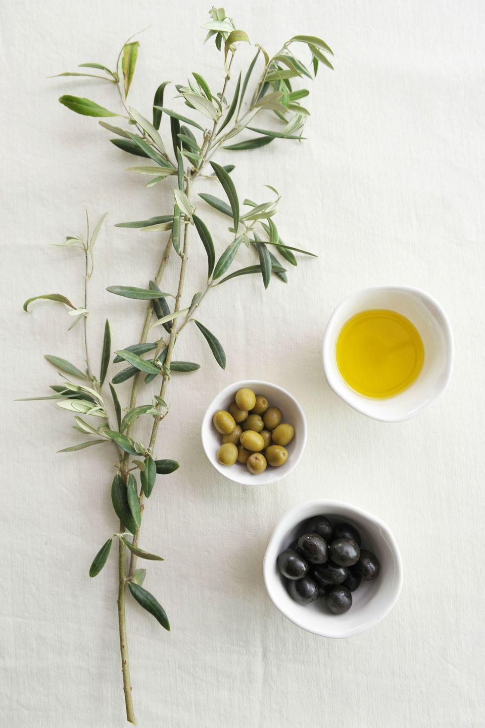 huiles essentielles olive